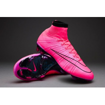 Tacos Nike Mercurial Superfly Lightning Storm Pack Rosa 2015