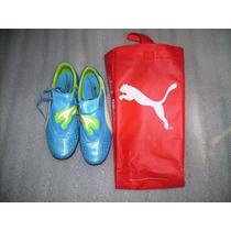 Zapatos/tenis Multitaco Turf Puma V4.11 Tipo Kun Agüero