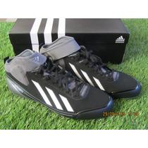 Spike Adidas Adizero 5 Tool / Baseball Negro 8.5 Mx 10.5 Us