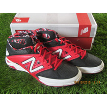 Spike New Balance Mid Metal M4040v2 / Rojo 7.5 Mx - 9.5 Us