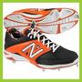 Spikes New Balance 28.5 Negro Naranja