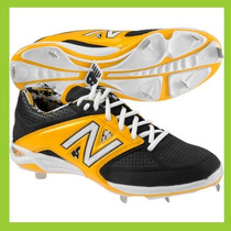 Spikes New Balance 28 Negro Amarillo