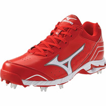 Excelentes Spikes Beis Mizuno Advanced Classic 7 Bajos 8 Mx