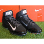 Spike Nike Air Huarache Pro Mid Metal / Negro 8.5mx - 10.5us