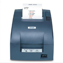 Miniprinter Tm-u220d-653 Epson Matricial Negra Serial +c+