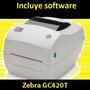 Impresora De Etiquetas Zebra Gc420 T Reemplaza Tlp2844