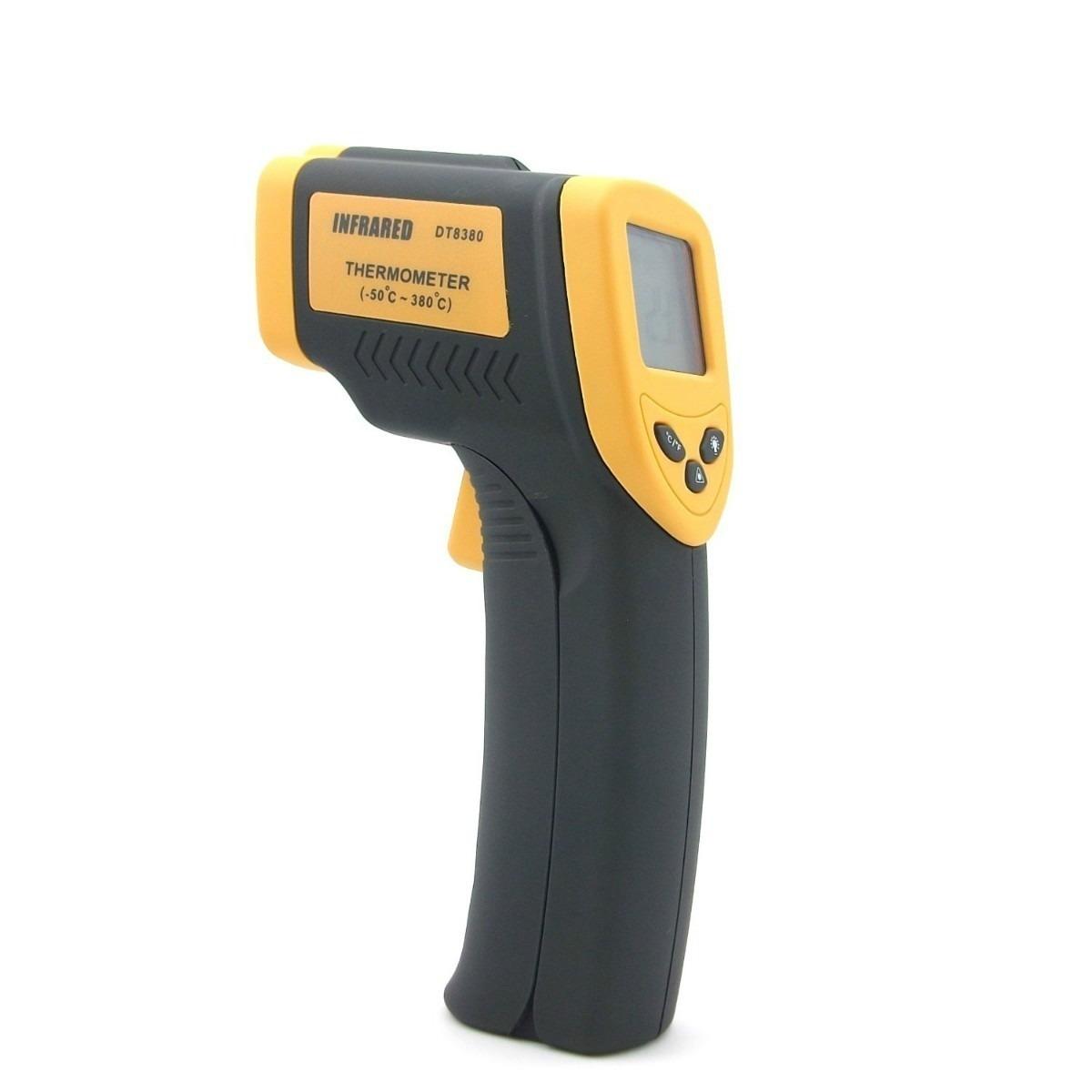termometro laser para medir objetivos a distancia 500
