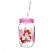 Fiesta Princesas Disney Vaso Mason Jar Infantil Dulcero