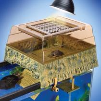 Tb Acuario Decoración Penn Plax Decorative Turtle Topper/bas