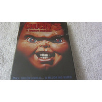 Chucky El Muñeco Diabolico 3 En Dvd Nueva Y Sellada Vv4