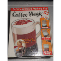 Taza Para Café Batidora De Bebidas Coffe Magic