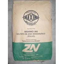 Sulfato De Zinc Zn 25kg Fertilizante Soluble Polvo