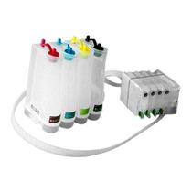 Sistema De Tinta Continua Con Chip Para Hp 4615 + Tinta