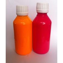 Vendo Pigmentos Fluorescentes Naranja Y Rosa En Dispersión
