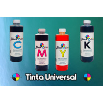 Tinta Universal 250 Ml Con Dosificador