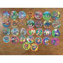 Coleccion De 30 Tazos Sin Repetir De Los Tiny Toon