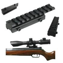 Riel Pecatinny Base Convertidora 11mm A 20-25mm Varios Usos