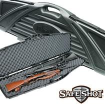 Estuche Jumbo Rigido Piano 2 Rifles Con Mira Ahorra Espacio