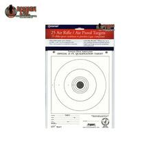 Siluetas Tiro Objetivos Crosman Airguns Target Pistola Co2