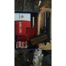 Pistola De Gas Crossman. Y Municion. Cal. 4.5