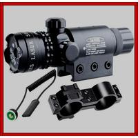 Mira Tactica Laser Red Dot Pistola Rifle Riel 20 Mm Montura
