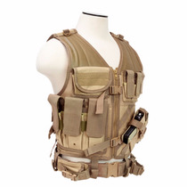 Chaleco Tactico Multitalla Tactical Vest