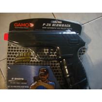 Gamo P25 Diabolos Co2 Tiro Deportivo Blowback 16 Tiros Nueva