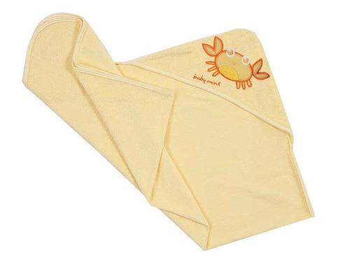 Accesorios Baño Amarillo:Toalla Bebe Salida Baño 0 A 12-amarillo Accesorios Baby Mink – $ 139