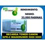 Recarga Toner Canon Gpr-4 Imageruner 5000 6000