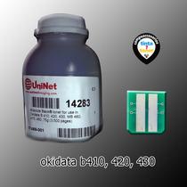 Toner Okidata B410 420 430 440 460 470 480 Kit Toner Y Chip