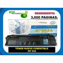 Tóner Nuevo Compatible Hp 53a Q7553a