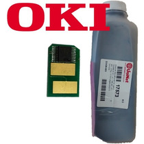 Recarga Toner + Chip Okidata Mb461 Lp Mb431 10,000pg 235grs
