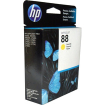 Cartucho Tinta Hp 88 Amarillo C9388al Original Officejet Pro