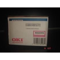 Toner Magenta Okidata 41963002 Impresoras C7100 C7300 C7500