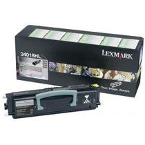 Toner Lexmark E34x. 34018hl. Para E330/332/340/342