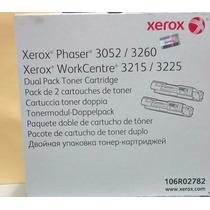 Toner Xerox 106r02778 Dual Pack P/3052/3260/wc3215