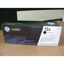 Toner Hp 12a Q2612a Negro Nuevo Original Facturado