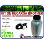 Kit Toner Brother Y Engrane Resetador Tn410/420/450