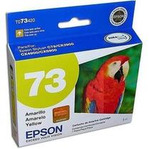 Cartucho Epson 73n Amarillo 380 Paginas