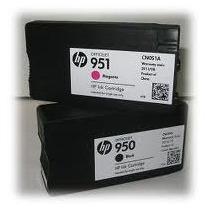 Tinta Vacia Hp 950 Negro Y 951 Amarillo/cyan/magenta Intro.