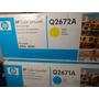 Toner Hp Q2671a (cyan) Y Q2672a (amarillo) Color Laser Jet