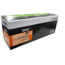 Tóner Negro Lexmark 504x Laser (50f4x00) P/ 10000 Pag.
