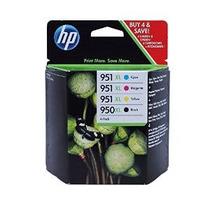 Hewlett Packard - Hp 950-951 Xl Cuatro Pack- Negro & Color I