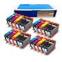 Inkjetcorner 20 Paquete De Cartuchos De Tinta Compatibles Pa
