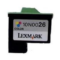 Tinta Vacia Lexmark 26 Tricolor 10n0026 Virgen