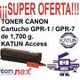 Cartucho De Toner Canon Ir 105 600 7200 8500 8070 9070 Katun