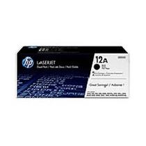 Tinta Para Impresora Dual Pack De Toner Hp Negro 12a - 2 X 2