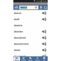 Diccionario Inglés Español Con Módulos De Voz Android