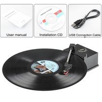 Tornamesa Reproduce Y Convierte Lp Vinyl Discos En Mp3