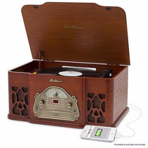 Tornamesa Electrohome Am / Fm Cd Usb Mp3